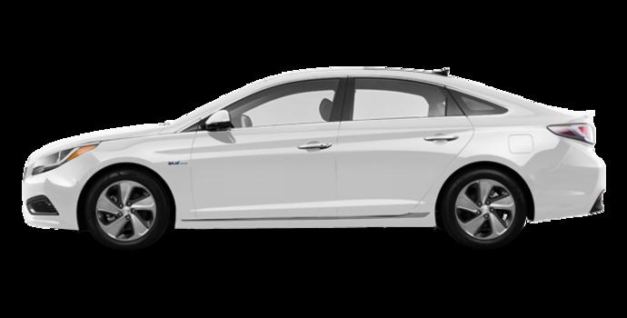 2016 Hyundai Sonata Hybrid ULTIMATE | Photo 4 | Ice White