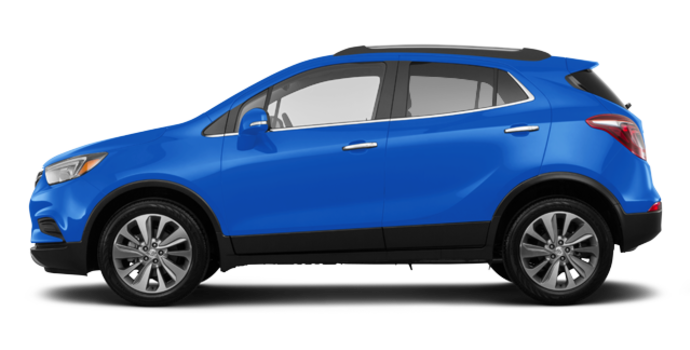 2017 Buick Encore PREFERRED | Photo 4 | Coastal Blue Metallic