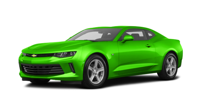 2017 Chevrolet Camaro coupe 1LT   Photo 6   Krypton Green