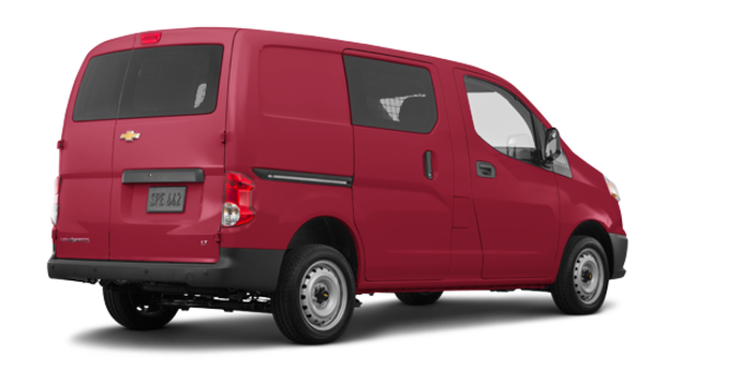 2017 Chevrolet City Express 1LT | Photo 5 | Furnace Red