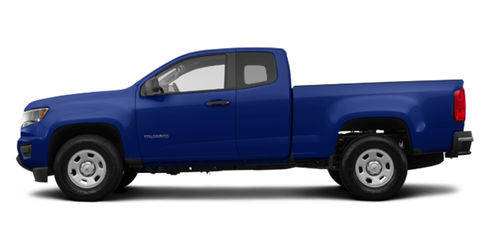 2017 Chevrolet Colorado WT | Photo 4 | Laser Blue Metallic
