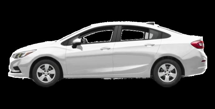 2017 Chevrolet Cruze LS   Photo 4   Summit White