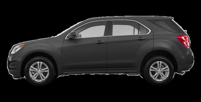 2017 Chevrolet Equinox LS   Photo 4   Nightfall Grey Metallic