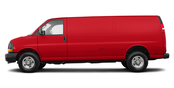 2017 Chevrolet Express 2500 CARGO | Photo 4 | Red Hot