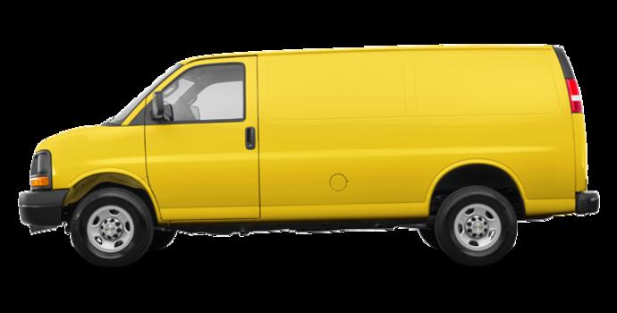 2017 Chevrolet Express 3500 CARGO | Photo 4 | Wheatland Yellow