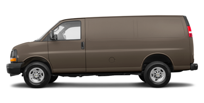 2017 Chevrolet Express 3500 CARGO | Photo 4 | Brownstone Metallic