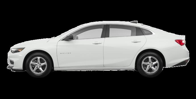 2017 Chevrolet Malibu LS | Photo 4 | Summit White