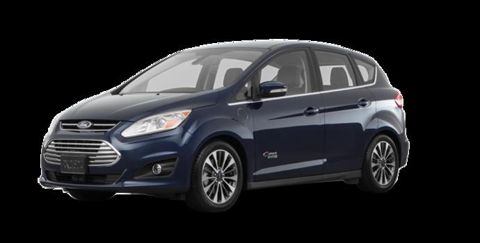 2017 Ford C-MAX ENERGI TITANIUM | Photo 6 | Kona Blue