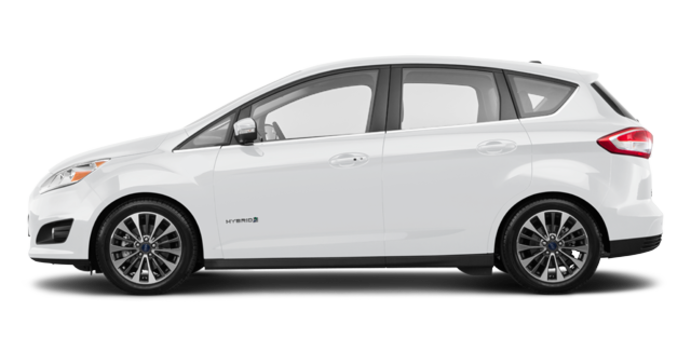 2017 Ford C-MAX HYBRID TITANIUM | Photo 4 | White Platinum