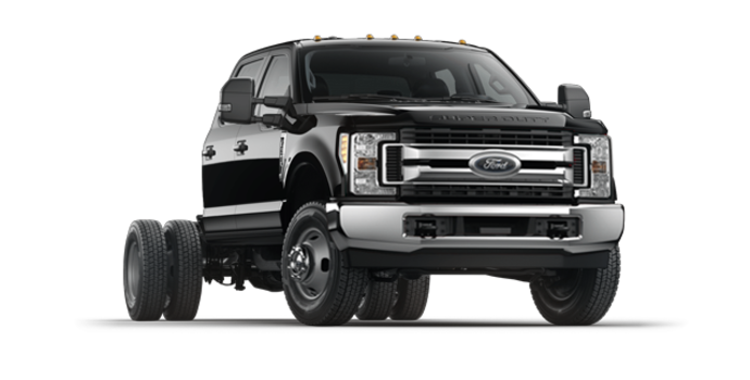 2017 Ford Chassis Cab F-350 XLT | Photo 6 | Shadow Black