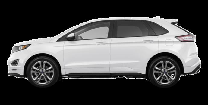 2017 Ford Edge SPORT | Photo 4 | White Platinum Metallic