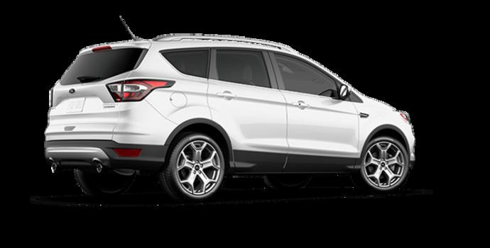 2017 Ford Escape TITANIUM   Photo 5   White Platinum