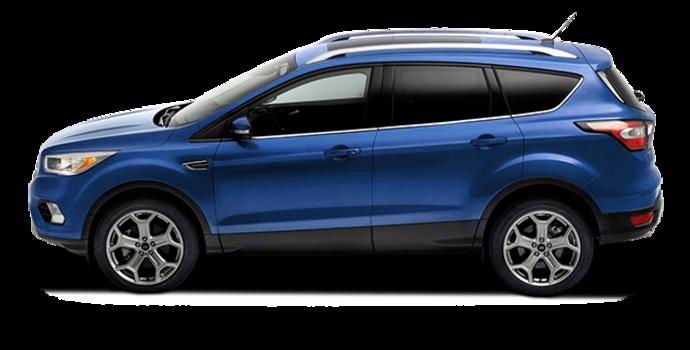 2017 Ford Escape TITANIUM   Photo 4   Lightning Blue