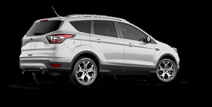 2017 Ford Escape TITANIUM   Photo 5   Ingot Silver