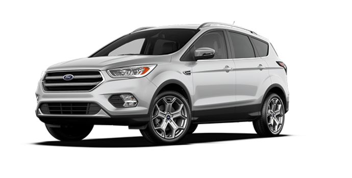 2017 Ford Escape TITANIUM   Photo 6   Ingot Silver