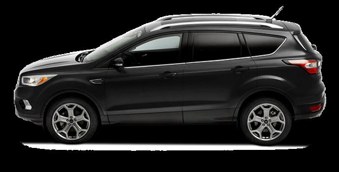 2017 Ford Escape TITANIUM   Photo 4   Shadow Black