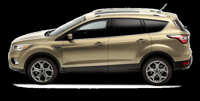 2017 Ford Escape TITANIUM   Photo 4   White Gold