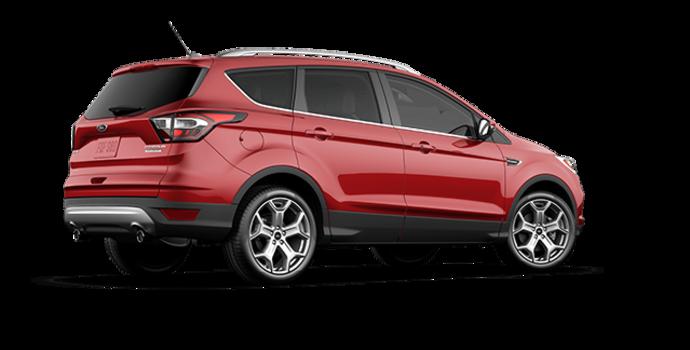 2017 Ford Escape TITANIUM   Photo 5   Ruby Red