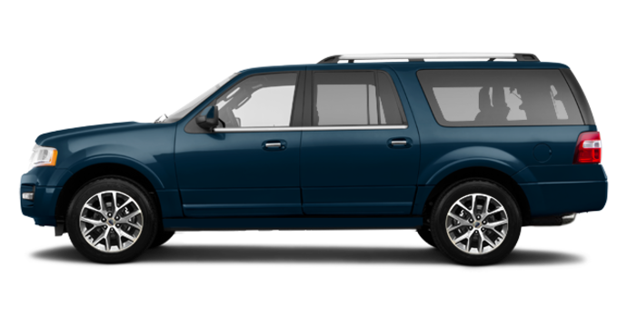 2017 Ford Expedition LIMITED MAX   Photo 4   Blue Jeans Metallic