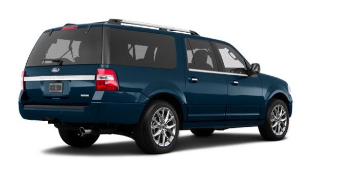 2017 Ford Expedition LIMITED MAX   Photo 5   Blue Jeans Metallic