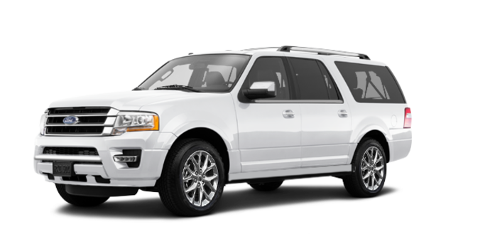 2017 Ford Expedition LIMITED MAX   Photo 6   White Platinum Metallic