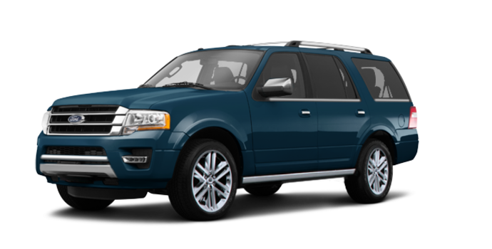 2017 Ford Expedition PLATINUM | Photo 6 | Blue Jeans Metallic