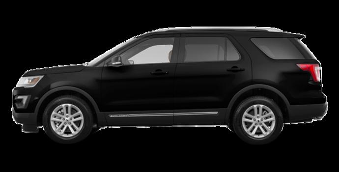2017 Ford Explorer XLT | Photo 4 | Shadow Black