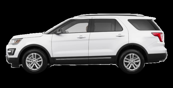 2017 Ford Explorer XLT | Photo 4 | White Platinum
