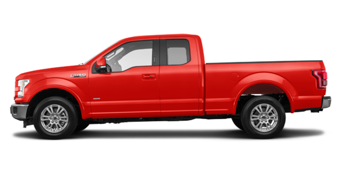 2017 Ford F-150 LARIAT | Photo 4 | Race Red