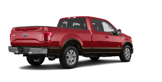 2017 Ford F-150 LARIAT | Photo 5 | Ruby Red Metallic/Caribou