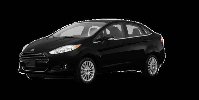 2017 Ford Fiesta Sedan TITANIUM | Photo 6 | Shadow Black