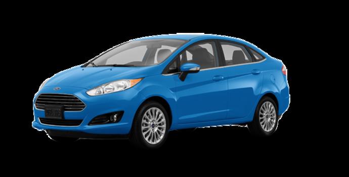 2017 Ford Fiesta Sedan TITANIUM | Photo 6 | Blue Candy