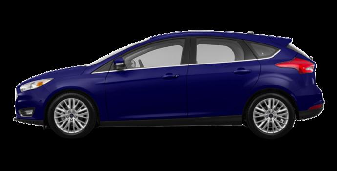 2017 Ford Focus Hatchback TITANIUM | Photo 4 | Kona Blue