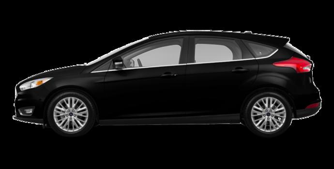 2017 Ford Focus Hatchback TITANIUM | Photo 4 | Shadow Black