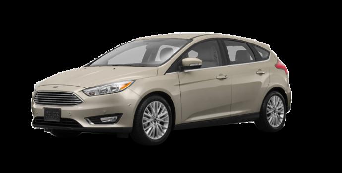 2017 Ford Focus Hatchback TITANIUM | Photo 6 | White Gold