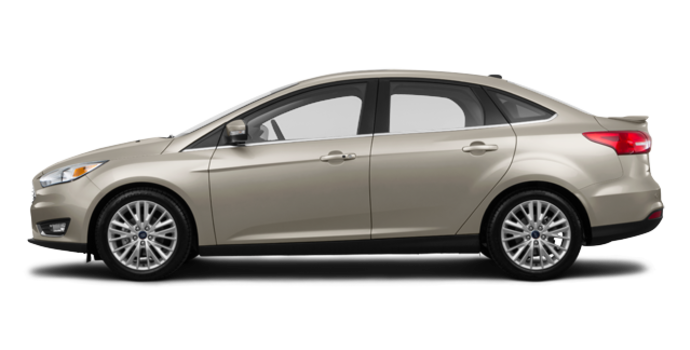 2017 Ford Focus Sedan TITANIUM | Photo 4 | White Gold