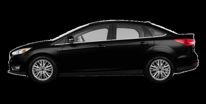 2017 Ford Focus Sedan TITANIUM | Photo 4 | Shadow Black