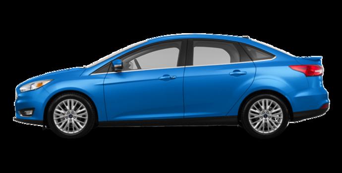 2017 Ford Focus Sedan TITANIUM | Photo 4 | Blue Candy Metallic
