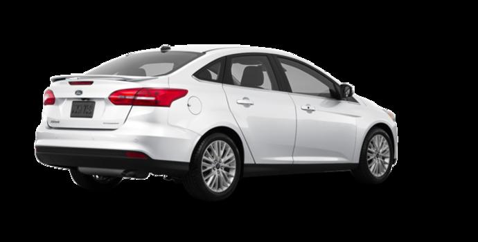2017 Ford Focus Sedan TITANIUM | Photo 5 | White Platinum Metallic