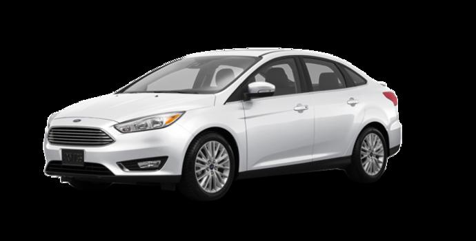 2017 Ford Focus Sedan TITANIUM | Photo 6 | White Platinum Metallic