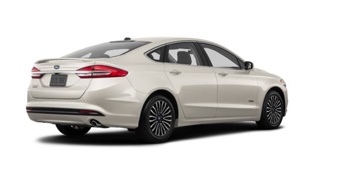 2017 Ford Fusion Energi PLATINUM | Photo 5 | White Gold