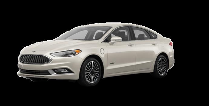 2017 Ford Fusion Energi PLATINUM | Photo 6 | White Gold