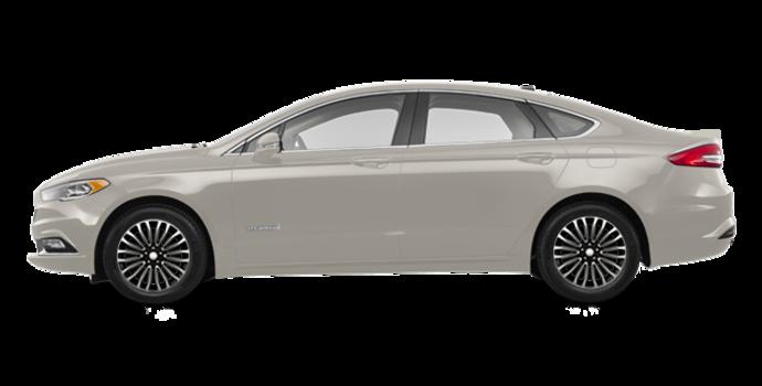 2017 Ford Fusion Hybrid TITANIUM | Photo 4 | White Gold