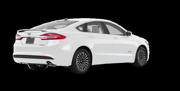 2017 Ford Fusion Hybrid TITANIUM | Photo 5 | Oxford White