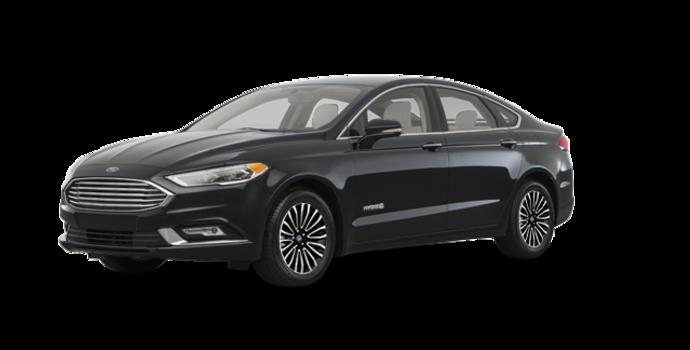 2017 Ford Fusion Hybrid TITANIUM | Photo 6 | Shadow Blakc
