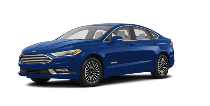 2017 Ford Fusion Hybrid TITANIUM | Photo 6 | Lightning Blue