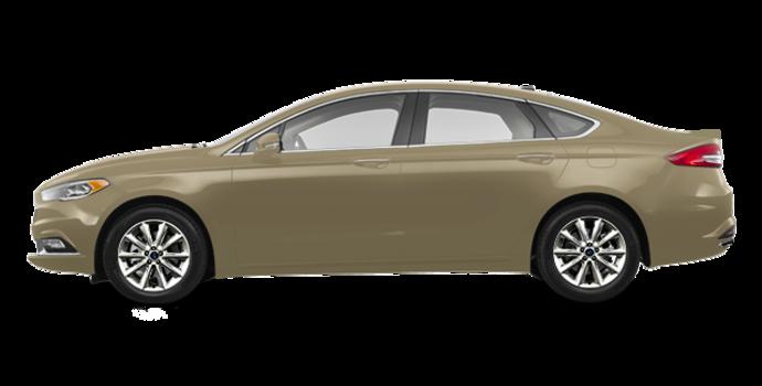 2017 Ford Fusion PLATINUM | Photo 4 | White Gold