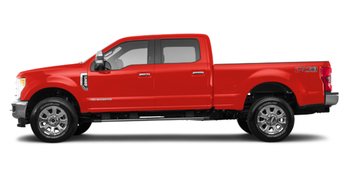 2017 Ford Super Duty F-350 LARIAT | Photo 4 | Race Red