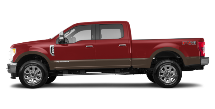 2017 Ford Super Duty F-350 LARIAT | Photo 4 | Ruby Red/Caribou