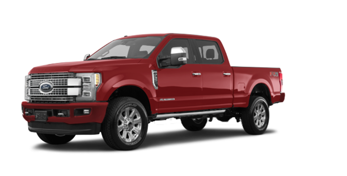 2017 Ford Super Duty F-350 PLATINUM | Photo 6 | Ruby Red